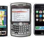 Nokia N95i 8GB, Blackberry 8310, iPhone «random thoughts»