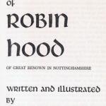 Robin Hood Bush