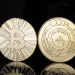 Tira al aire un bitcoin